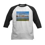 Chicken Kids Baseball Jersey