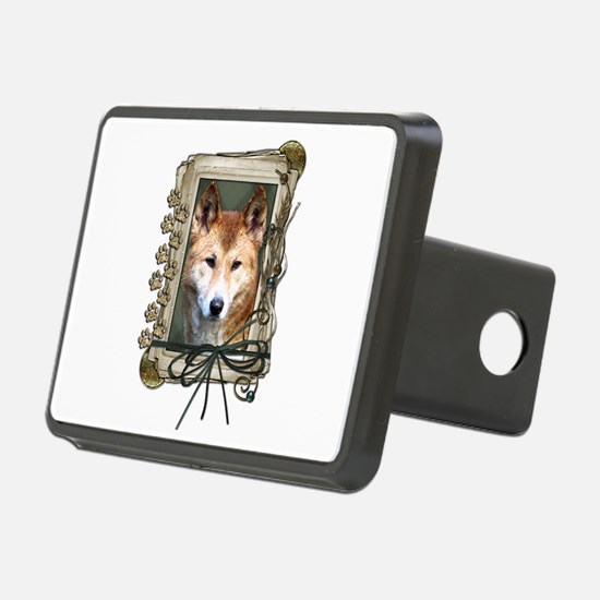 Fathers Day Stone Paws Dingo Hitch Cover