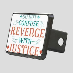 Anti Revenge Rectangular Hitch Coverle)