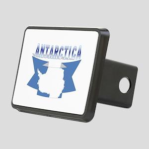 Antarctic flag ribbon Rectangular Hitch Cover