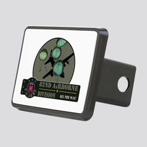 82nd Airborne Rectangular Hitch Cover