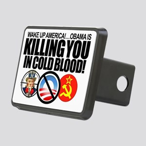 Obama-KILLING-America-in-Cold Rectangular Hitch Co