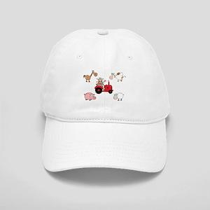 Cute Farm Animals Cap