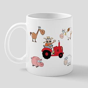 Cute Farm Animals Mug