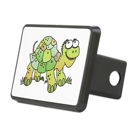 Funny Turtle Rectangular Hitch Coverle)