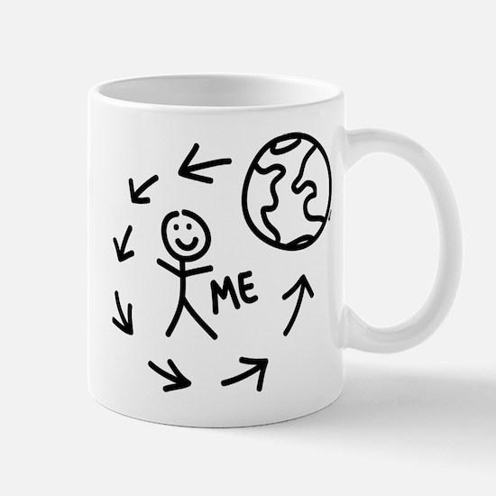 The World Revolves Around Me Mug