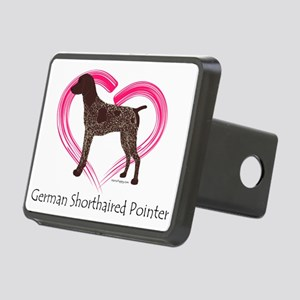 Heart My GSP Rectangular Hitch Coverle)
