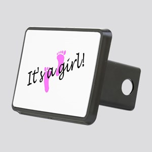 It's A Girl Rectangular Hitch Cover