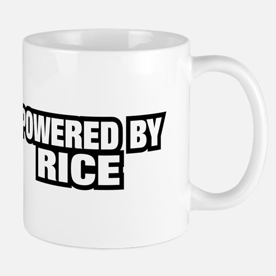 POWERED BY RICE Mug