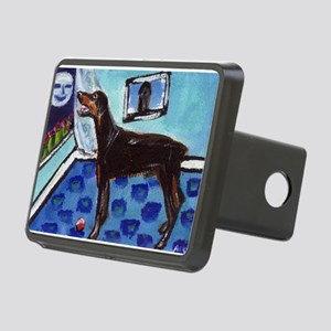 DOBERMAN PINSCHER art Rectangular Hitch Cover