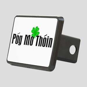 Pog Mo Thoin Text Rectangular Hitch Cover