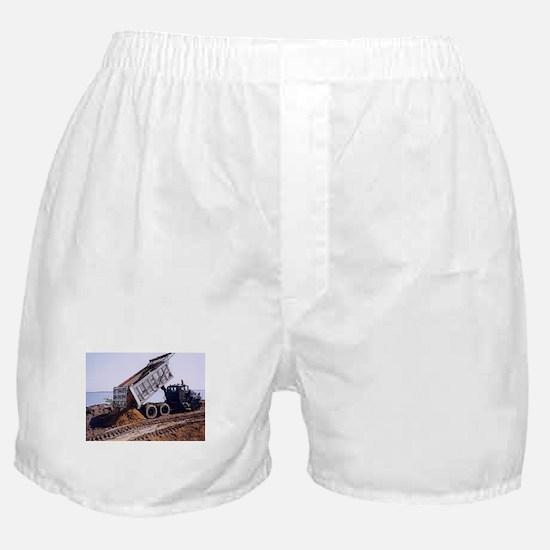 Dump Truck #1 Boxer Shorts