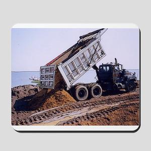 Dump Truck #1 Mousepad