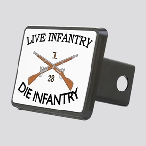 1st Bn 28th Infantry Rectangular Hitch Coverle)