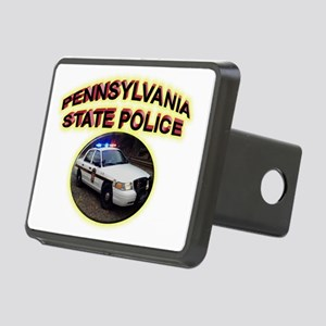 Pennsylvania State Police Rectangular Hitch Coverl