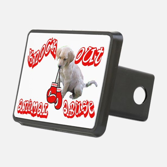 Knock Out Animal Abuse Rectangular Hitch Coverle)