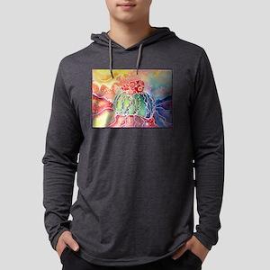 Cactus! Southwest art! Mens Hooded Shirt