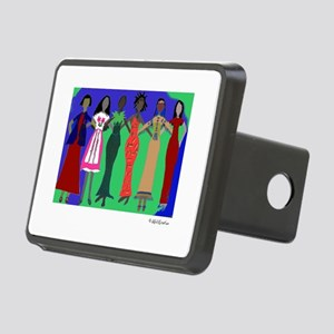 Women in Peace 1 Rectangular Hitch Cover