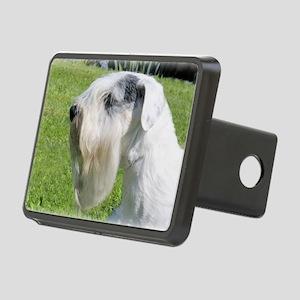 Sealyham Terrier Head Shot Rectangular Hitch Cover
