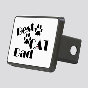 Best Cat Dad Rectangular Hitch Cover