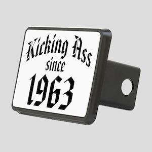 Kicking Ass Since 1963 Rectangular Hitch Coverle)