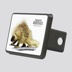 North American Porcupine Rectangular Hitch Coverle