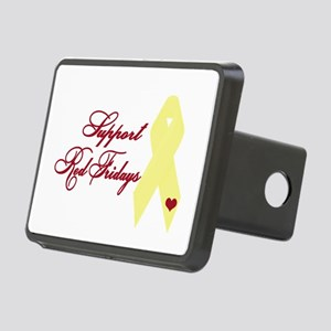 Support Red Fridays Rectangular Hitch Cover