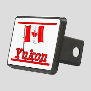 Canada Flag - Yukon Territory Rectangular Hitch Co