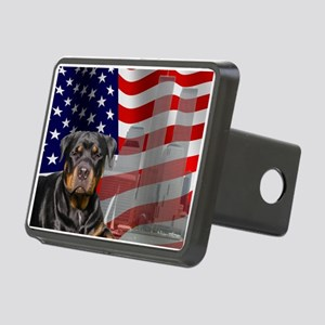 Rotties were there! Rectangular Hitch Cover