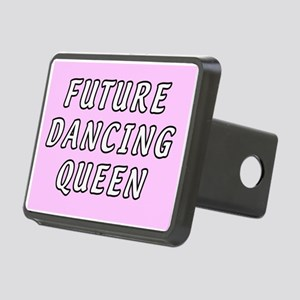 Dancing queens Rectangular Hitch Cover.)