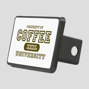 Coffee University Rectangular Hitch Cover