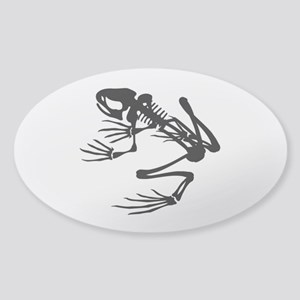 Desert Frog - B (1) Sticker (Oval)