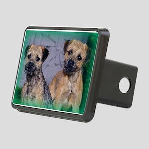Border (Patrol) Terrier Rectangular Hitch Cover