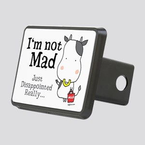 Disappointed Cow Rectangular Hitch Cover