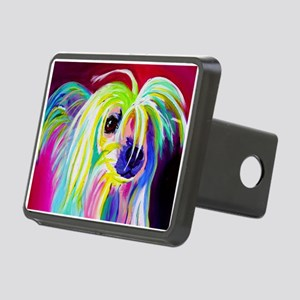 Chinese Crested #2 Rectangular Hitch Cover