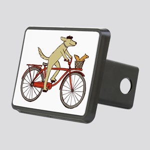 Dog & Squirrel Rectangular Hitch Coverle)