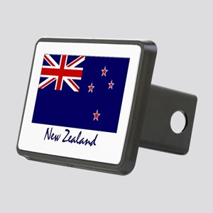 New Zealand Flag Rectangular Hitch Cover