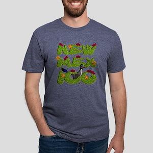 NEW -MEX-ICO CACTUS Mens Tri-blend T-Shirt