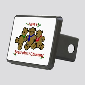 Beary Merry Rectangular Hitch Cover