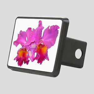 Pink Cattleya Rectangular Hitch Cover