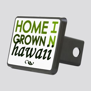 'Home Grown In Hawaii' Rectangular Hitch Coverle)