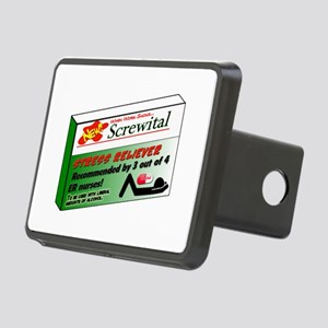 Screwital! Rectangular Hitch Cover