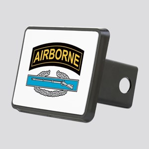 CIB with Airborne Tab Rectangular Hitch Cover