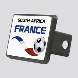 Soccer 2010 FRANCE SA Rectangular Hitch Coverle)