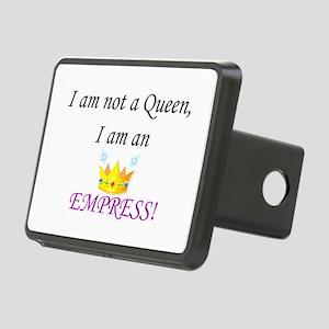 I am not a queen... Rectangular Hitch Cover