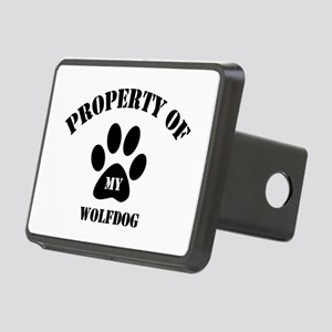 My Wolfdog Rectangular Hitch Cover