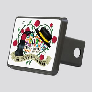 Day Of The Dead Wedding Rectangular Hitch Cover
