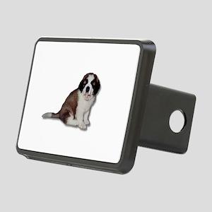 Saint Bernard Puppy Rectangular Hitch Cover