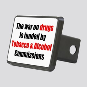 Drug War Rectangular Hitch Cover