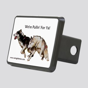 We're Pullin' For Ya! Rectangular Hitch Cover